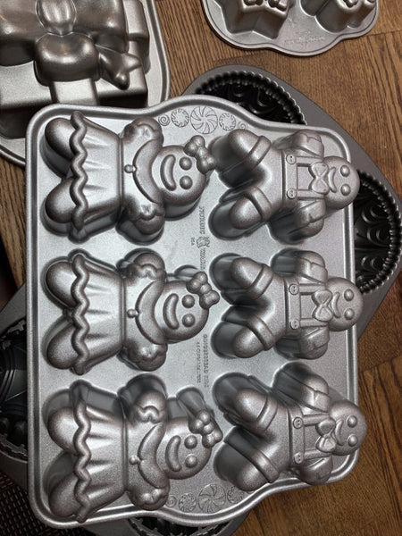 Nordic Ware Gingerbread Mold-Bath Bomb Molds-Everyday Indulgences