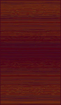 Red Rust Pattern Rug