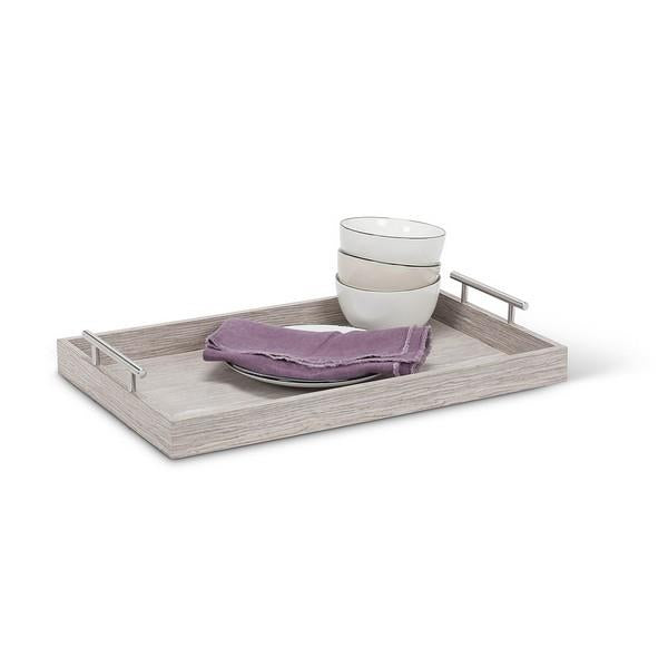 Stone Tray with Handles