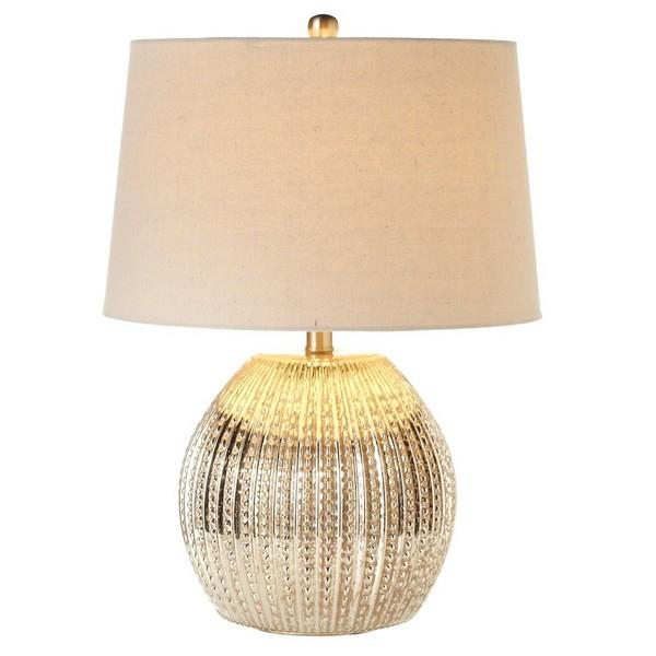 Short Ribbed Lamp