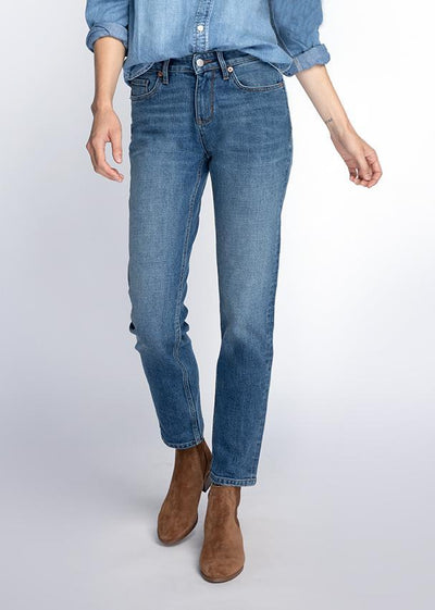Straight Leg Jeans Fit