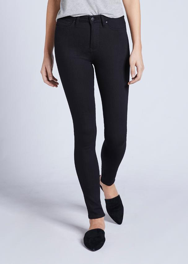 High Rise Skinny Jeans Fit