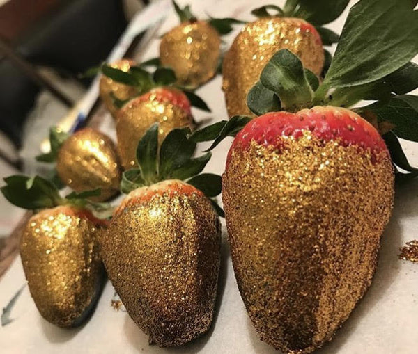 Glitter Strawberries