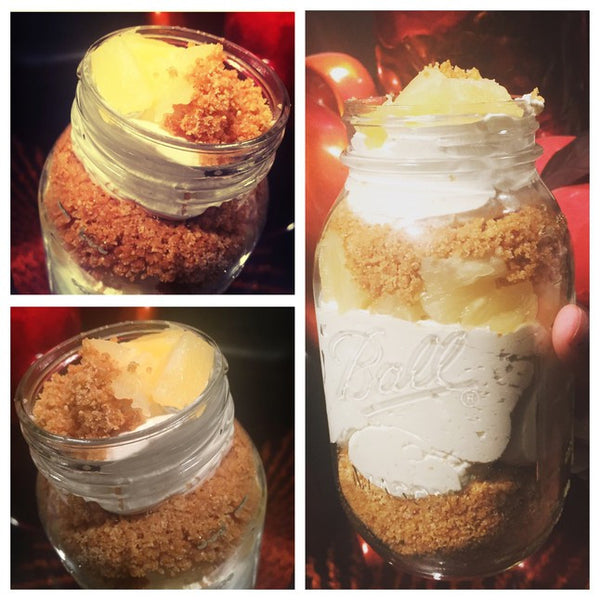Pineapple Cheesecake Jar