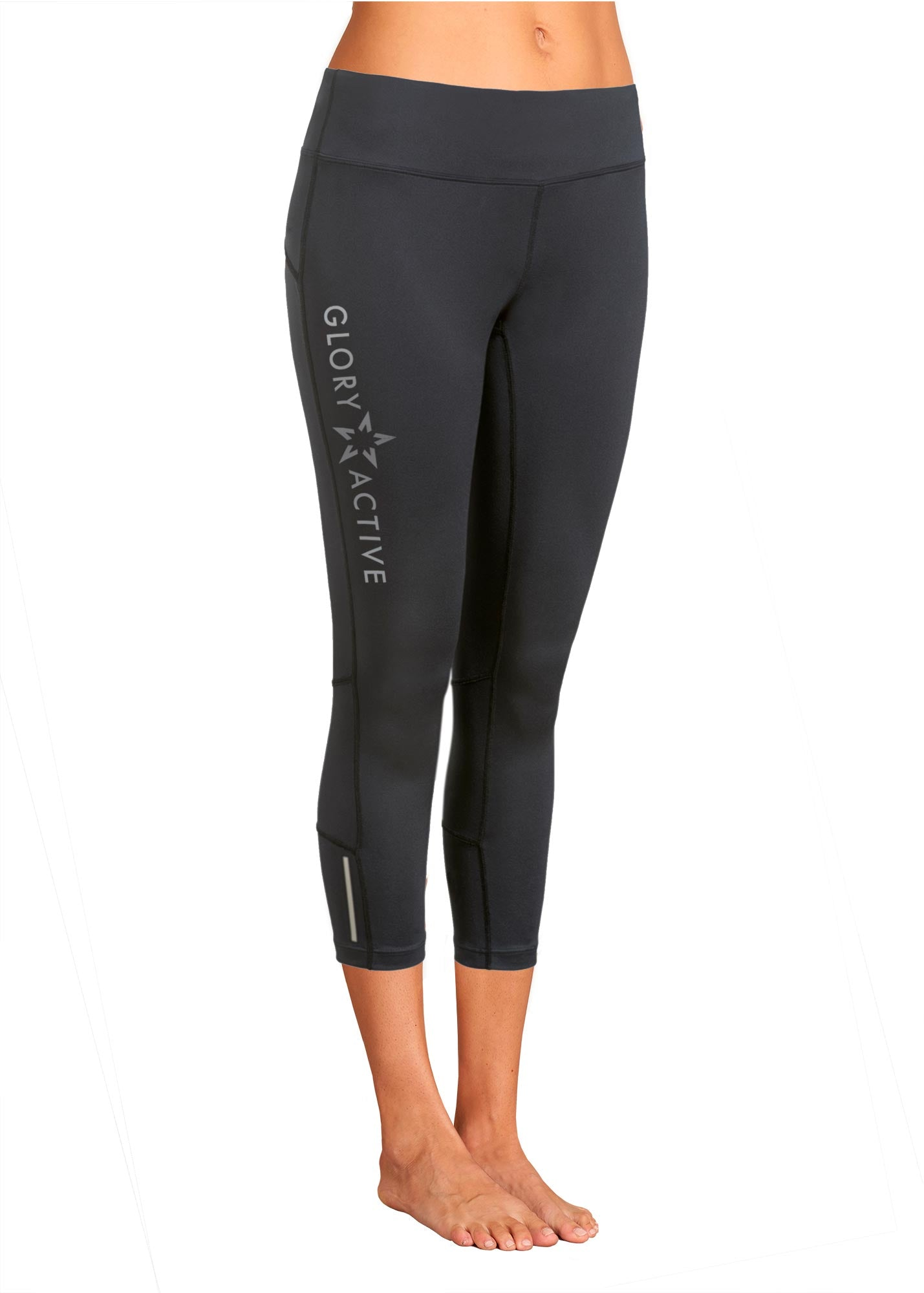 christian sports apparel capri legging glory active