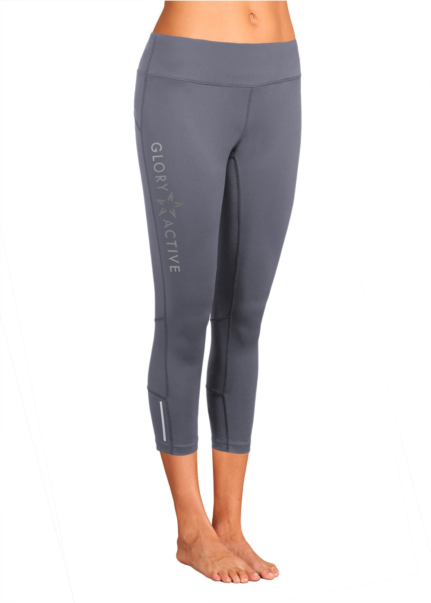 christian apparel all around capri legging glory active