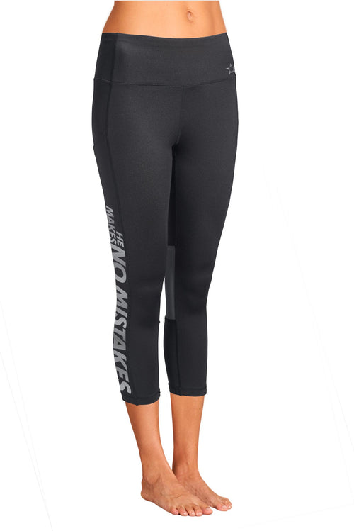 pocket legging capri black christian sports apparel