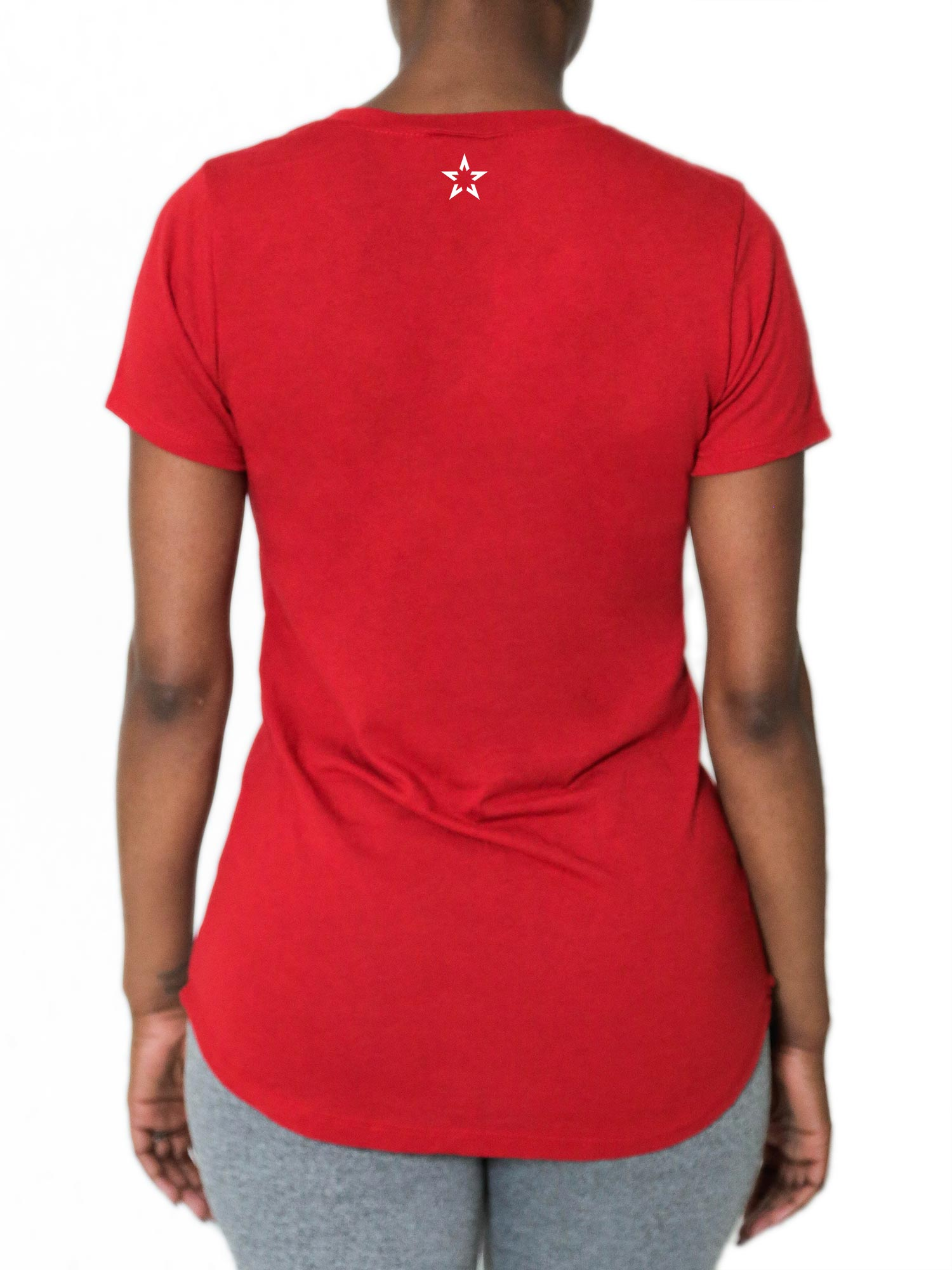 "V Neck Tri-Tec™ Performance Tee - ""Glory Active Signature"""