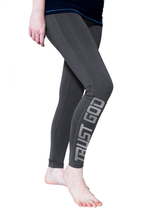 long leggings trust god christian athletic apparel