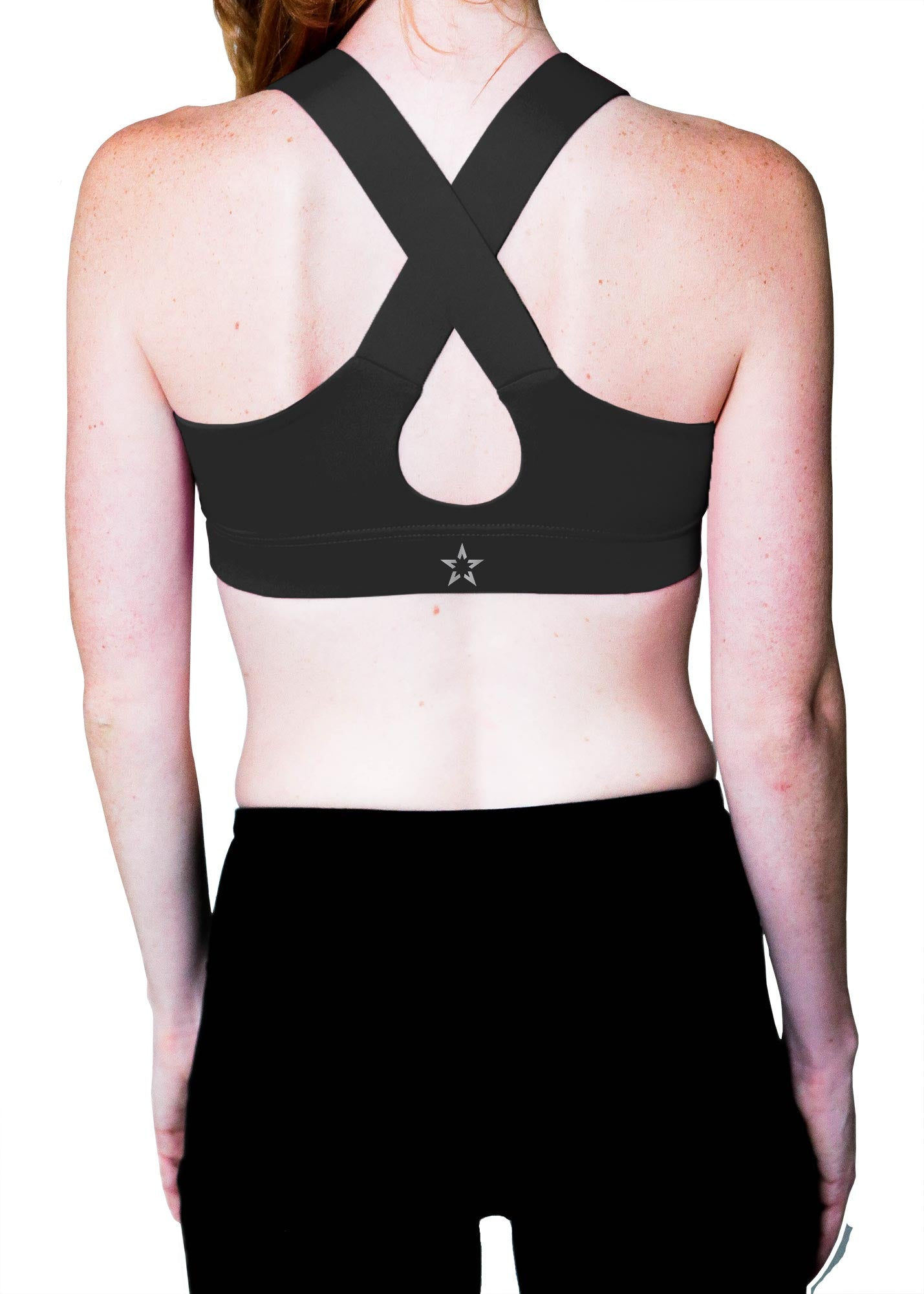 "Crossback Sports Bra - ""Glory Active Signature"""