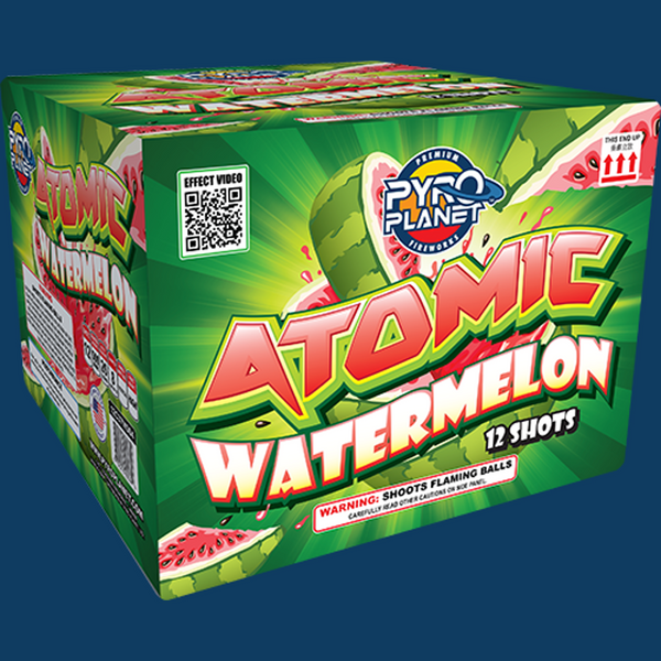Atomic Watermelon pyroplanet