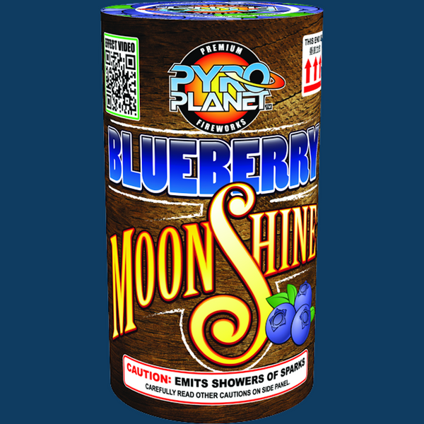 Blueberry Moonshine pyroplanet