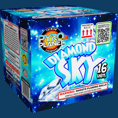 Diamond Sky pyroplanet