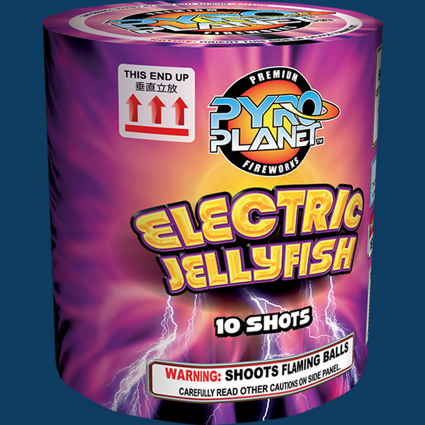 Electric Jellyfish pyroplanet
