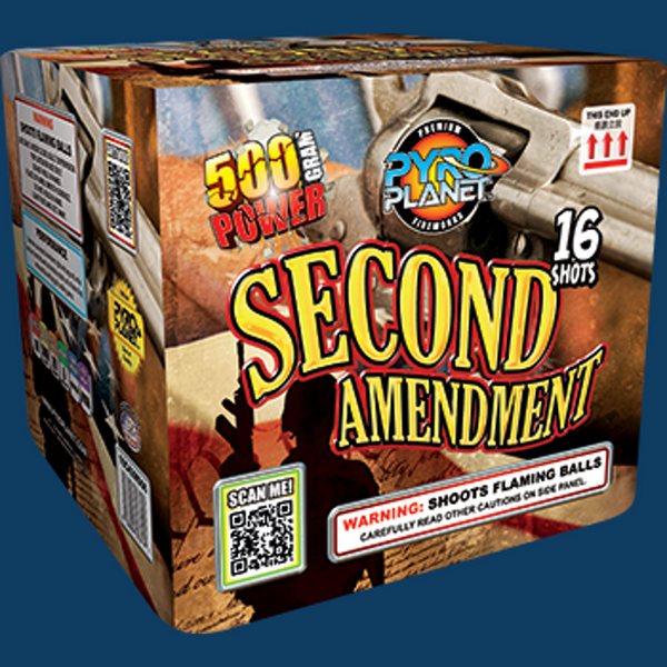 Second Amendment pyroplanet