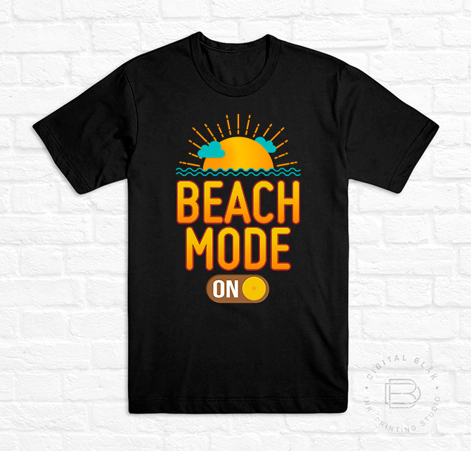 BEACH MODE ON<br>Hombre