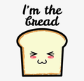 I'M THE BREAD<br>Sudadera
