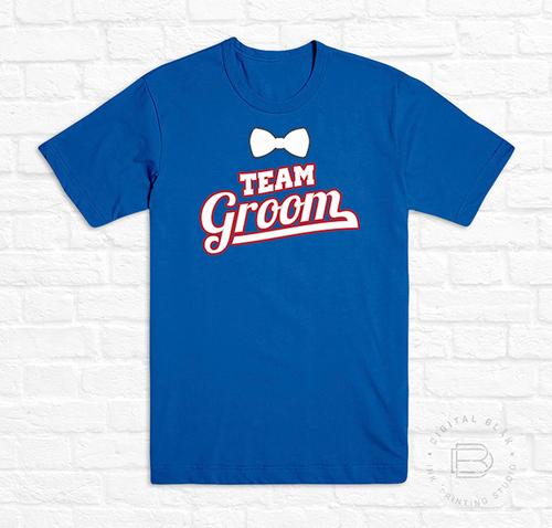 TEAM GROOM BEISBALL<br>Blanco