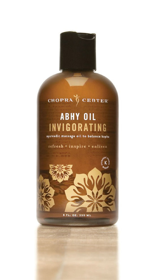 Invigorating Abhy Oil to Balance Kapha with Organic Ingredients