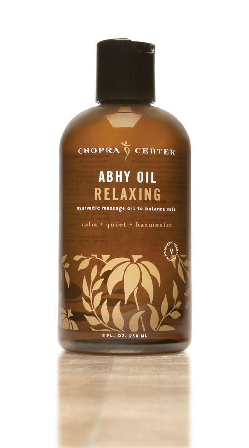 Relaxing Abhy Oil to Balance Vata with Organic Ingredients