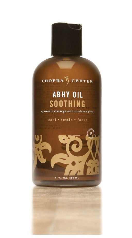 Soothing Abhy Oil to Balance Pitta with Organic Ingredients