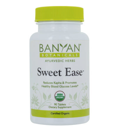 Sweet Ease™ tablets Reduces Kapha & Promotes Healthy Blood Glucose Levels