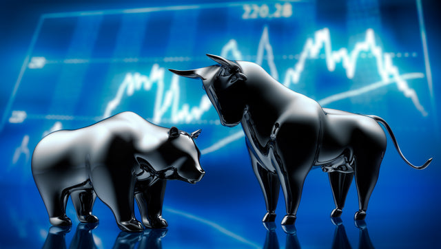 T shirts lyrics Image of a Bear and Bull to represent the characteristics of the stock market