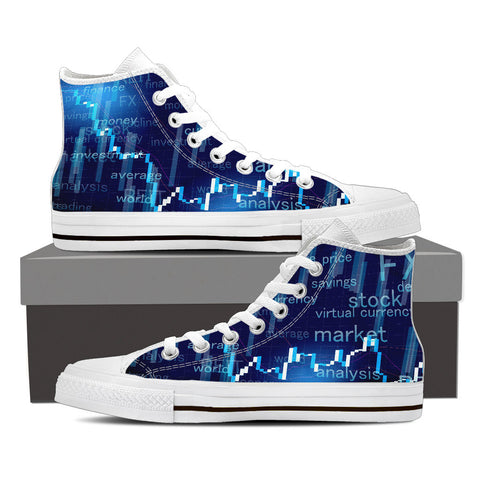 Women's High Top Canvas Shoe - DOW30K Global Seal Collection