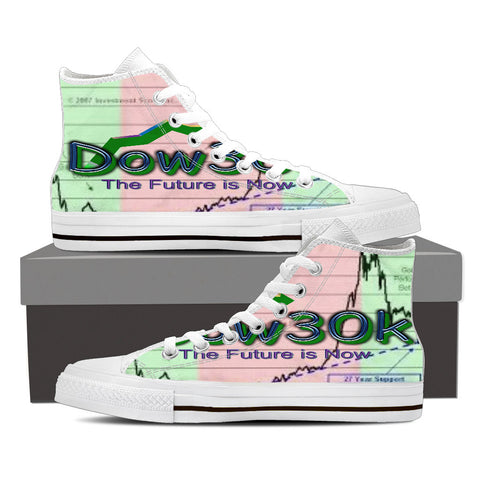 Women's High Top Canvas - DOW30K Global Seal Collection