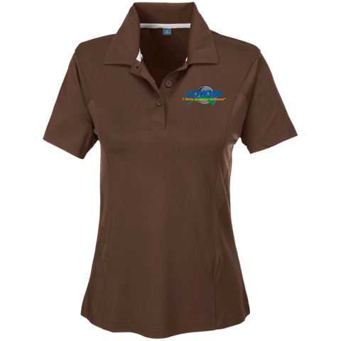 Team 365 Ladies' Solid Performance Polo - DOW30K Global Seal Designer Collection