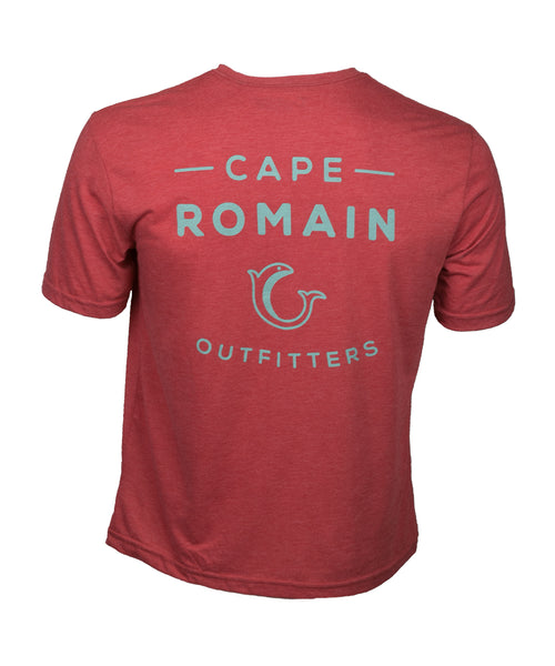 Cape Romain Red Tee Shirt
