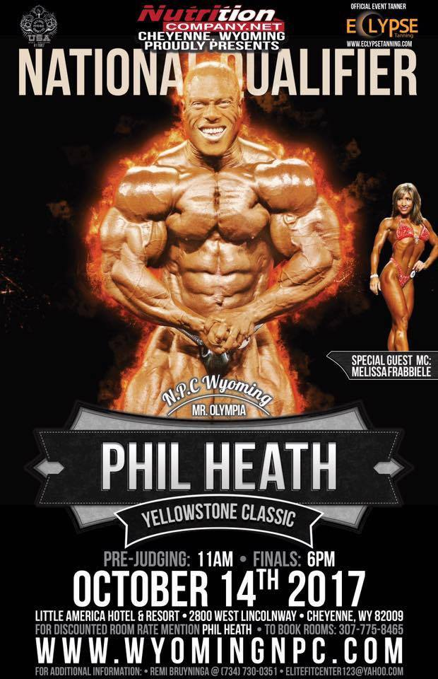 2017 NPC Phil Heath Yellowstone Classic Sponsored by Nutrition Company