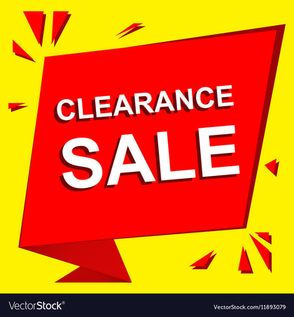 In Store Catalog - Clearance Only