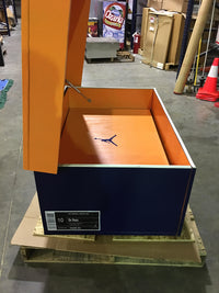 Veez Up:  Custom Giant Jordan Inspired Shoe Box (FREE SHIPPING)