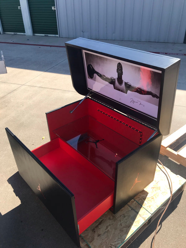 The Red Wine Event Box:  Giant Shoebox Storage, Giant Shoebox, Big Shoe Box, Shoe Organizer  (FREE SHIPPING)