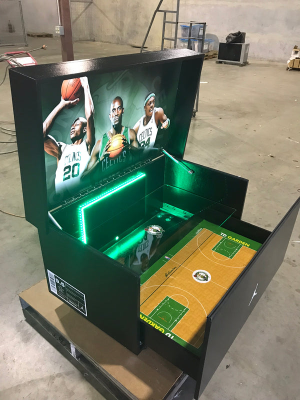 Celtic Pride Edition Giant Jordan Shoebox (FREE SHIPPING)