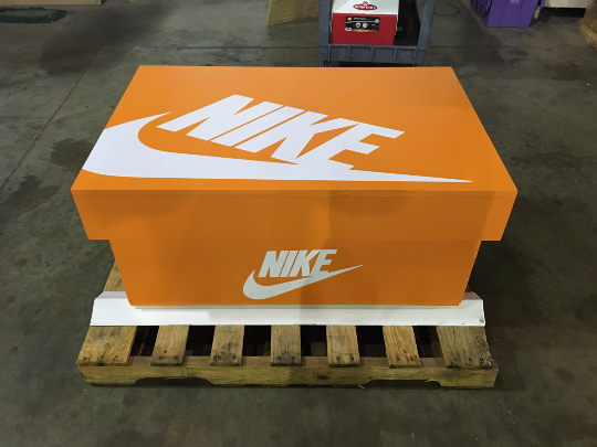 The Classic:  Giant Nike Inspired Shoe Box Storage (FREE SHIPPING)