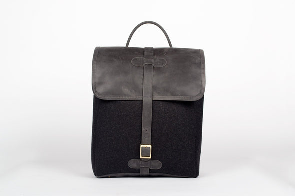 The Camden Backpack in Black