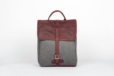 The Camden Backpack in Ox Blood