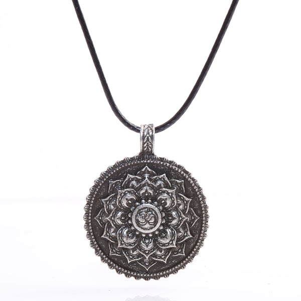 Tibetan Inspired Lotus Flower Amulet