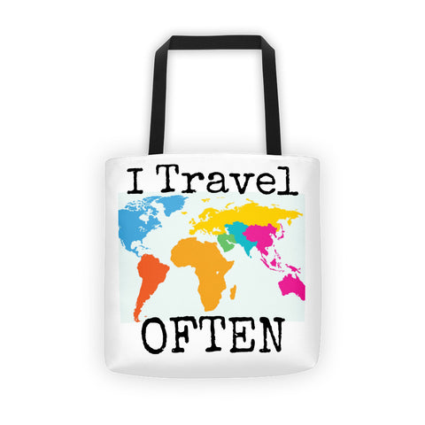 I Travel Often Tote