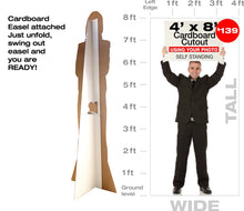 8ft Tall Custom Cardboard Cutout - Lowest Price Guarantee