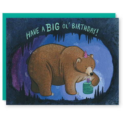 Big Ol' Bear Card