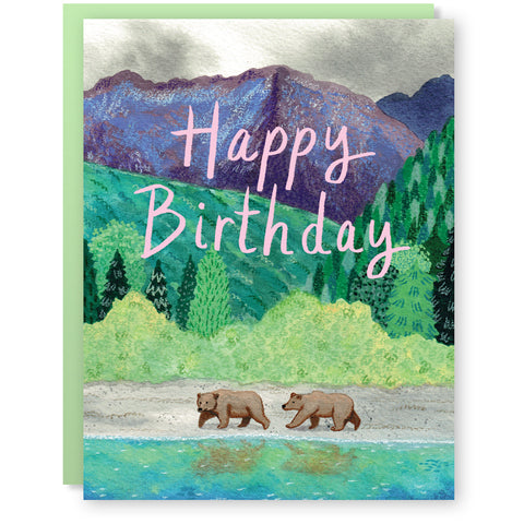 Birthday Bears Card