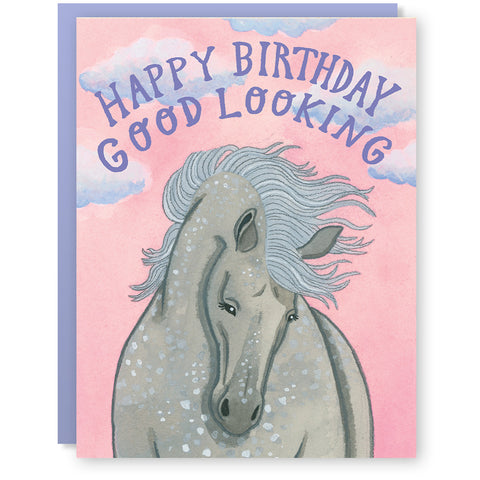 Gorgeous Horse Card