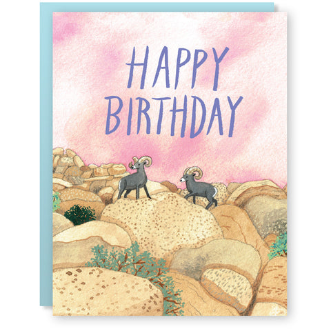 Birthday Sheep Card
