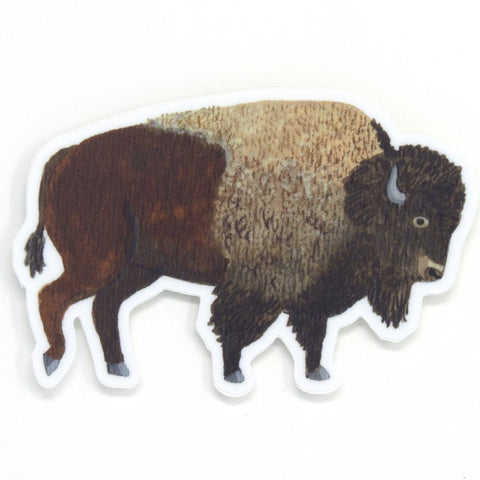 Bison Sticker