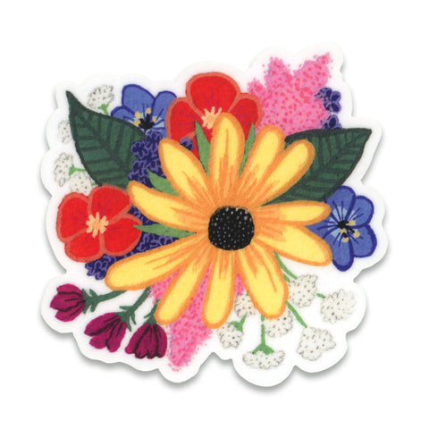 Black-Eyed Susan Sticker