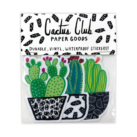 Cactus Vol. 1 Sticker Pack (Wholesale)