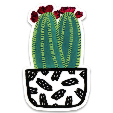 Frida Cactus Sticker